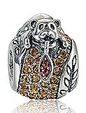 HONEY Bear para pulsera-plata de ley 925-Pandora & Trollbeads Pulseras