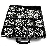 Generic 3420 piezas M4 varios tornillos tuercas y arandelas juego