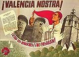 Póster, Vintage Póster, Propaganda Póster De La Guerra Civil Española