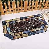 Pasillo de alfombras de piso del baño Alfombras tapetes puerta