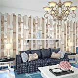BTJC Mediterráneo Oriental raya madera PVC Hotel corredor sala TV