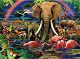 Clementoni African Savannah 1000 Piece Magic 3D Jigsaw Puzzle by