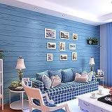 BTJC El azul Mediterráneo Oriental dormitorio papel pintado y retro