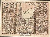 Osterhofen Notgeld: 1034.1a) 2. rojizo Notgeld del Ciudad Osterhofen 1917