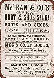 1869McClean & Co. Botas y zapatos reproducción de aspecto Vintage