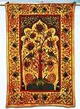 Handicrunch indio Tree Of Life Tapiz colgante de pared corredor