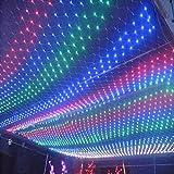 LED luces luces luces neta luces de flash en una