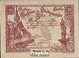 Ybbs Notgeld el ciudad Ybbs 1920 10 brillante (billetes para