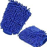 NAKEEY Bayeta de limpieza de microfibra,(2 unidades) Chenille limpieza del