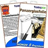 Honor 8Premium tanque Cristal Vidrio Templado Pantalla-Cristal protector de pantalla