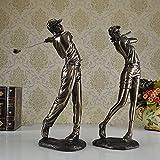 SU@DA Hotel la decoración/gente/boda regalos/hogar muebles/regalos/artesanías/Resumen/Golf/resina masculino 31 * 20