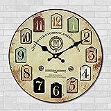 MEICHEN-Regalos creativos salón de arte de pared Reloj mesa creativa