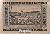 Berlín Notgeld: 92.3 Notgeld Berlín 5. 1869 primero eléctrico ferrocarriles