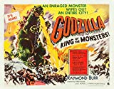 Godzilla King of the Monsters aktions-Reimpresión de 40 x 30