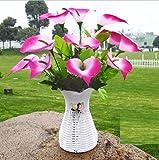 Flores artificiales ShiQi verdadero toque falso Salón de flores flores