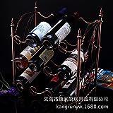 zhq Noble Rojo Vino portavasos botellero para colgar Bali layer