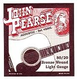 John Pearse 200L - Set de cuerdas para guitarra acústica