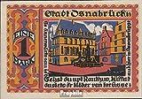 billetes para coleccionistas: alemán Imperio artículo: Notgeld el ciudad Osnabrück