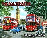 El Routemaster - Rojo Clásico Londres autobús. Años 60 Londres