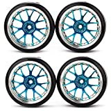DN RC 1:10 Flat Racing Car Drift Car Azul Y