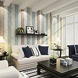 BTJC Azul Mediterráneo Oriental wallpaper madera living comedor dormitorio papel