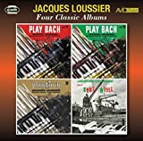 Four Classic Albums (Play Bach Vol 1 / Play Bach Vol 2 / Play Bach Vol 3 / Jacques Loussier Joue Kurt Weill) - Jacques Loussier