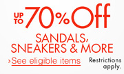 Up to 70% Off Shoes