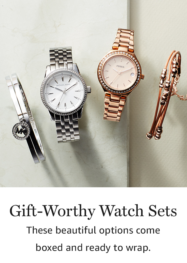 Gift-Worthy Watch Sets