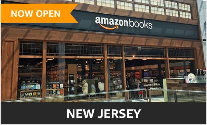 Amazon Books at Garden State Plaza