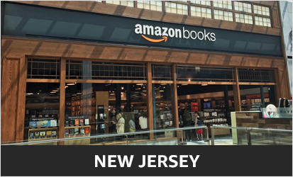 Amazon Books at Garden State Plaza