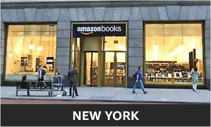 Amazon Books at 34th Street