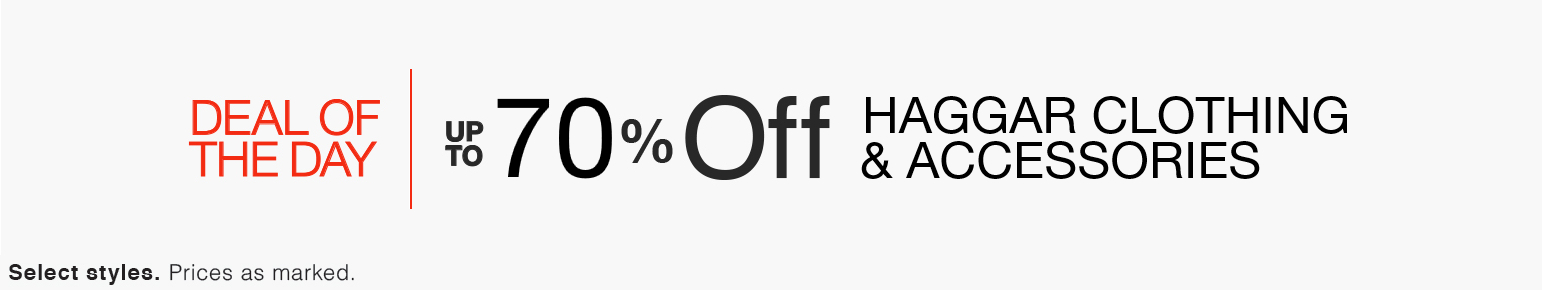 Up to 70% Off Haggar Clothing & Accessories