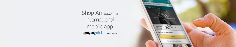 Shop Amazon's international mobile app
