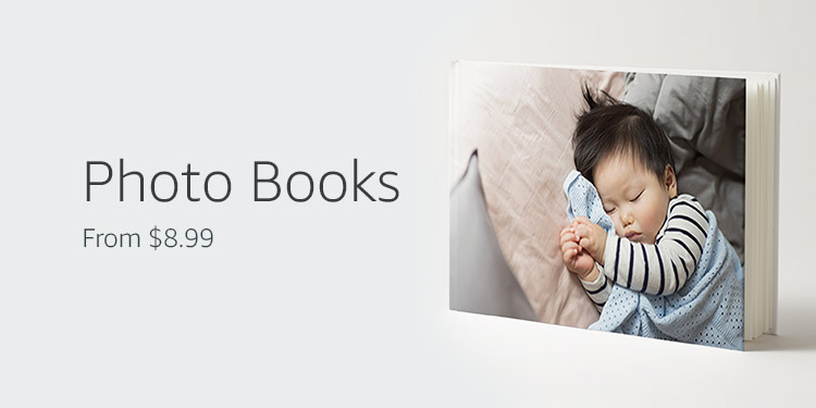 Photo Books, from $8.99