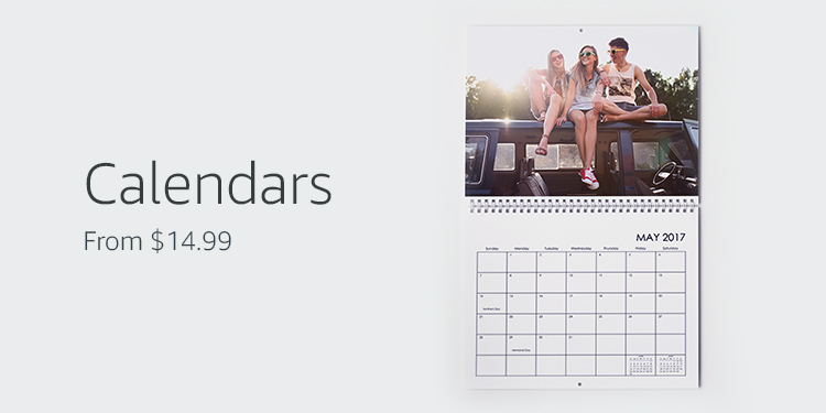 Calendars, from $14.99