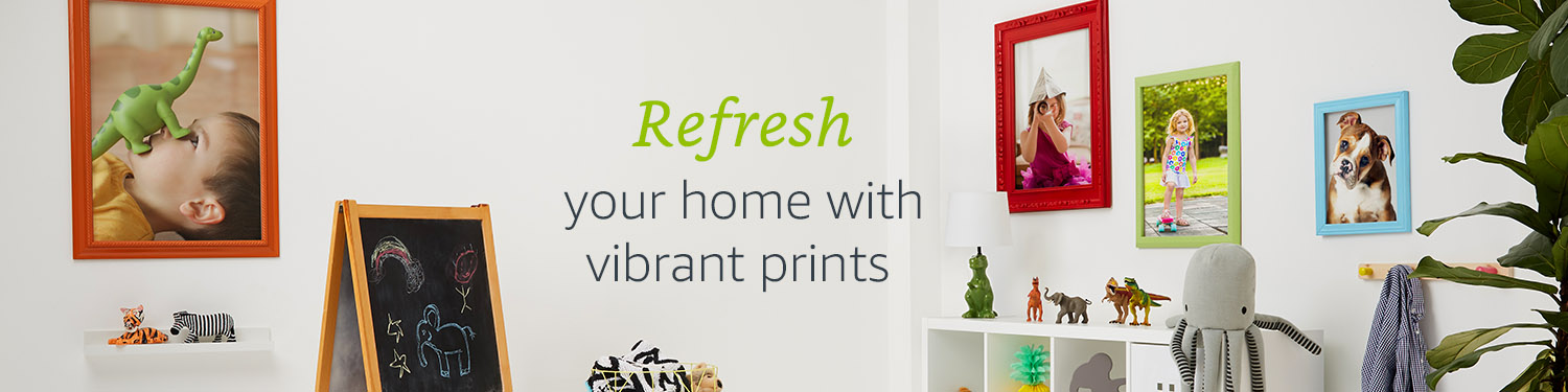 Refresh your home with vibrant prints