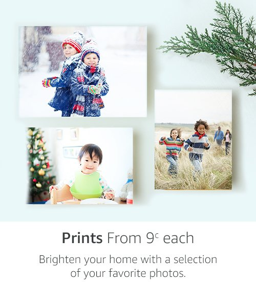 Prints, From 9c each | Brighten your home with a selection of your favorite photos.