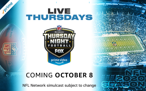 2020 Nfl Thursday Night Football Schedule On Prime Video