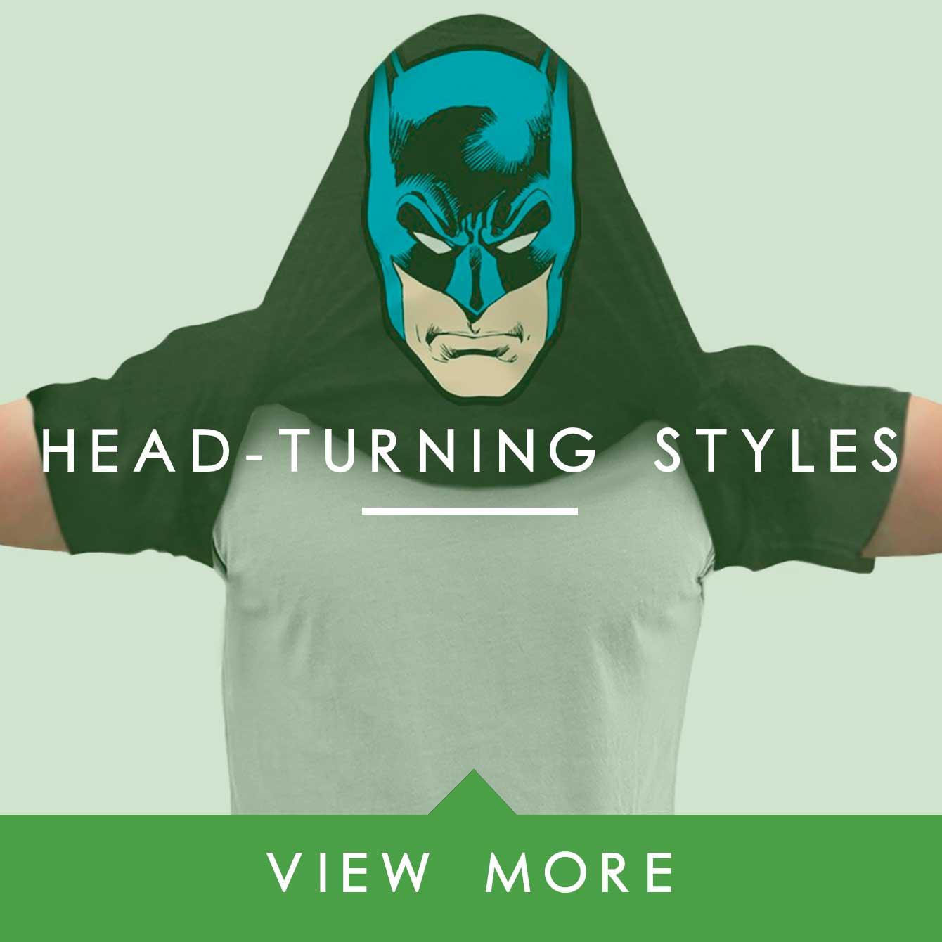 head turnign style