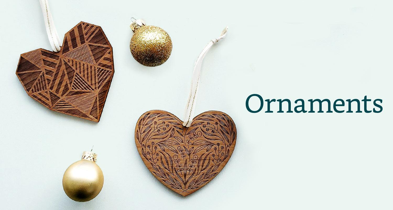 Handmade Holiday Ornaments