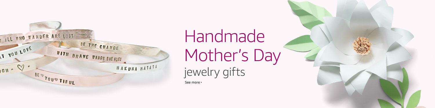 Handmade Mother's Day Jewelry Gifts