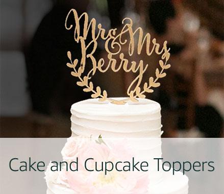 Handmade Cake Toppers