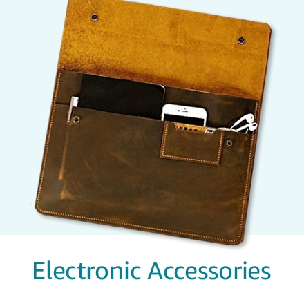 Handmade electronic accessories