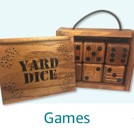 Handmade Yard Games and Cornhole