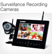 Surveillance Recording Cameras