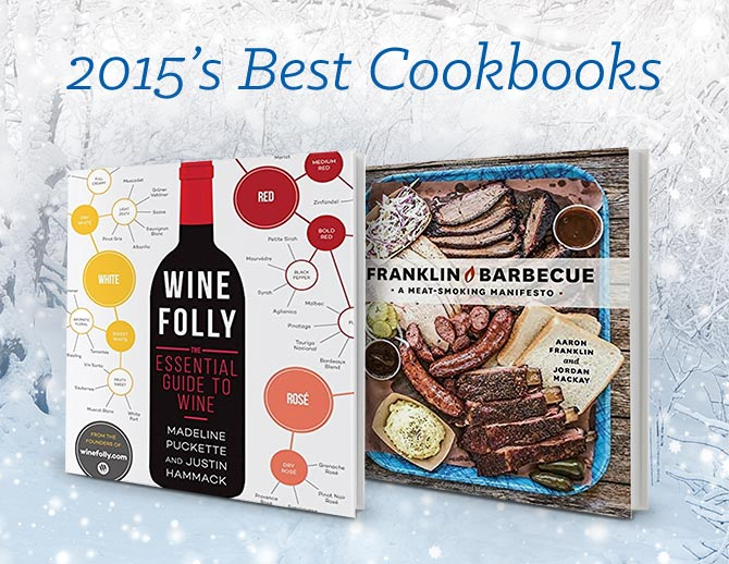 2015's Best Cookbooks