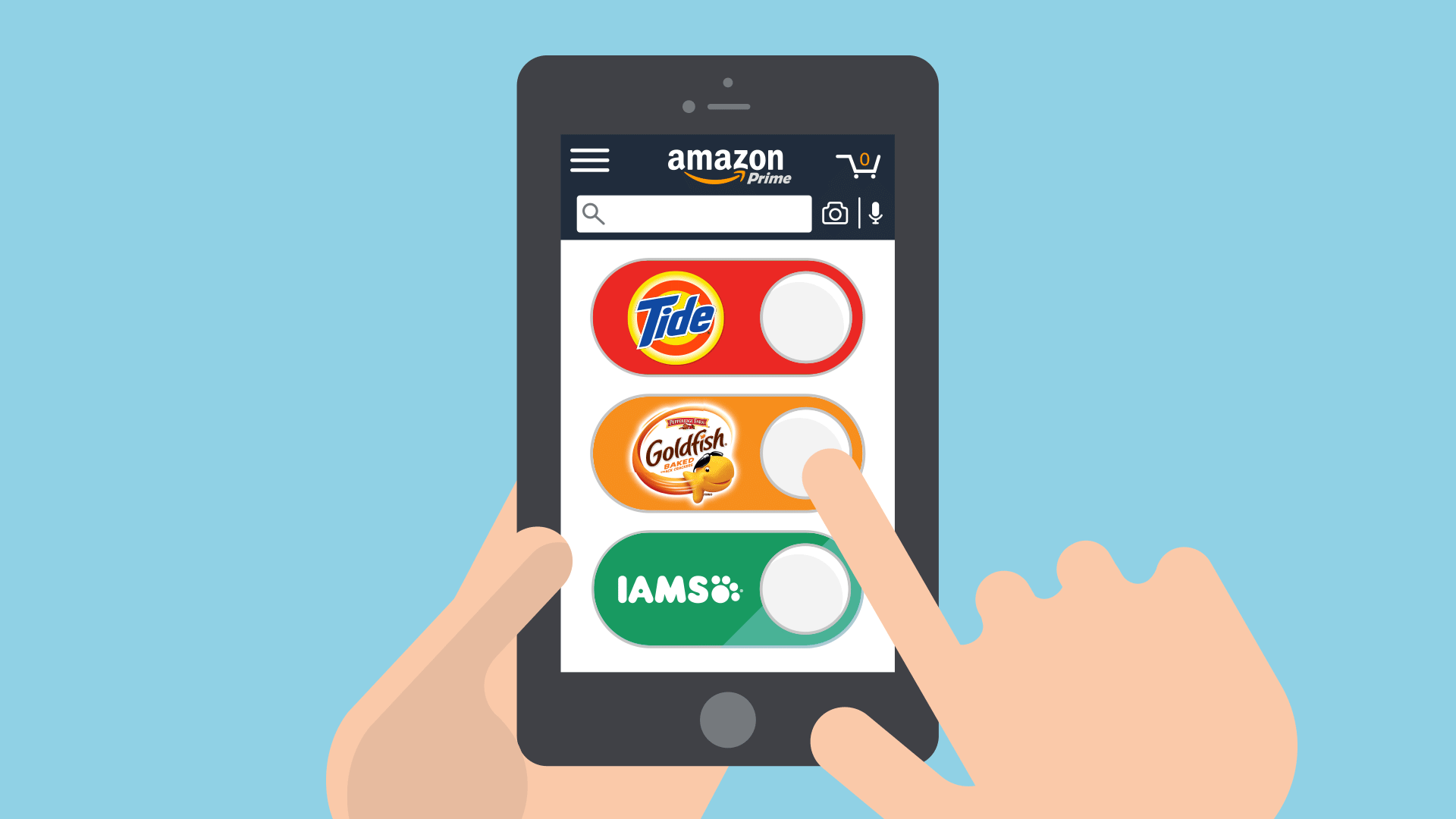Fast and easy ordering