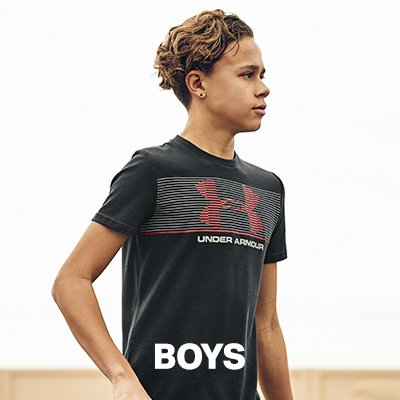Under armour youth clothing