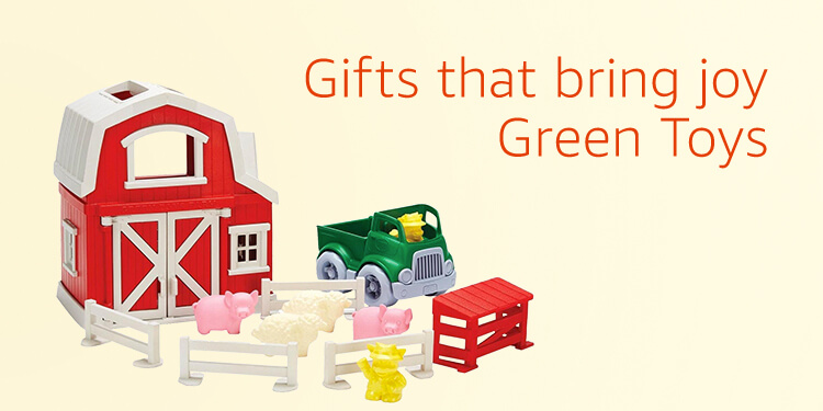 Gifts that bring joy, Green Toys