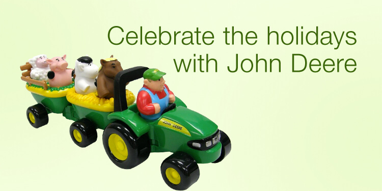 Celebrate the holidays with John Deere
